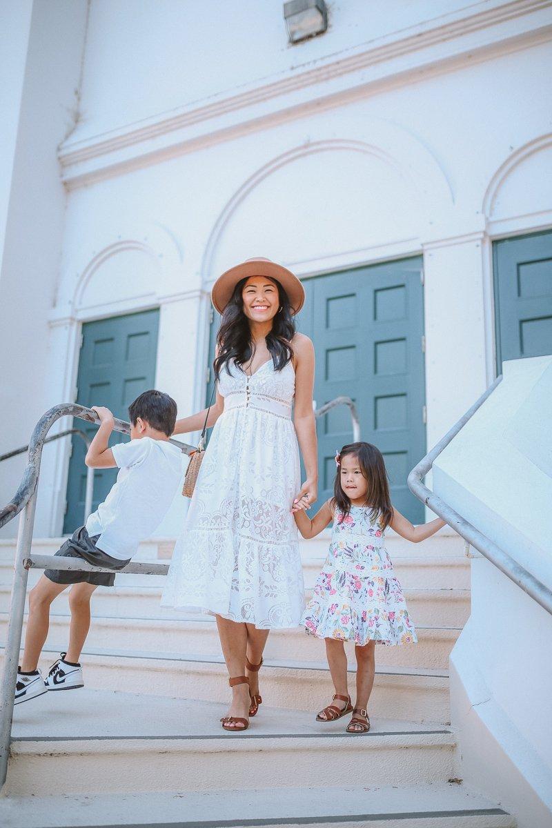 """<img src=""""piecesofemerald.com"""" alt=""""mommy and me sacramento places for photos white dresses back to school"""">"""