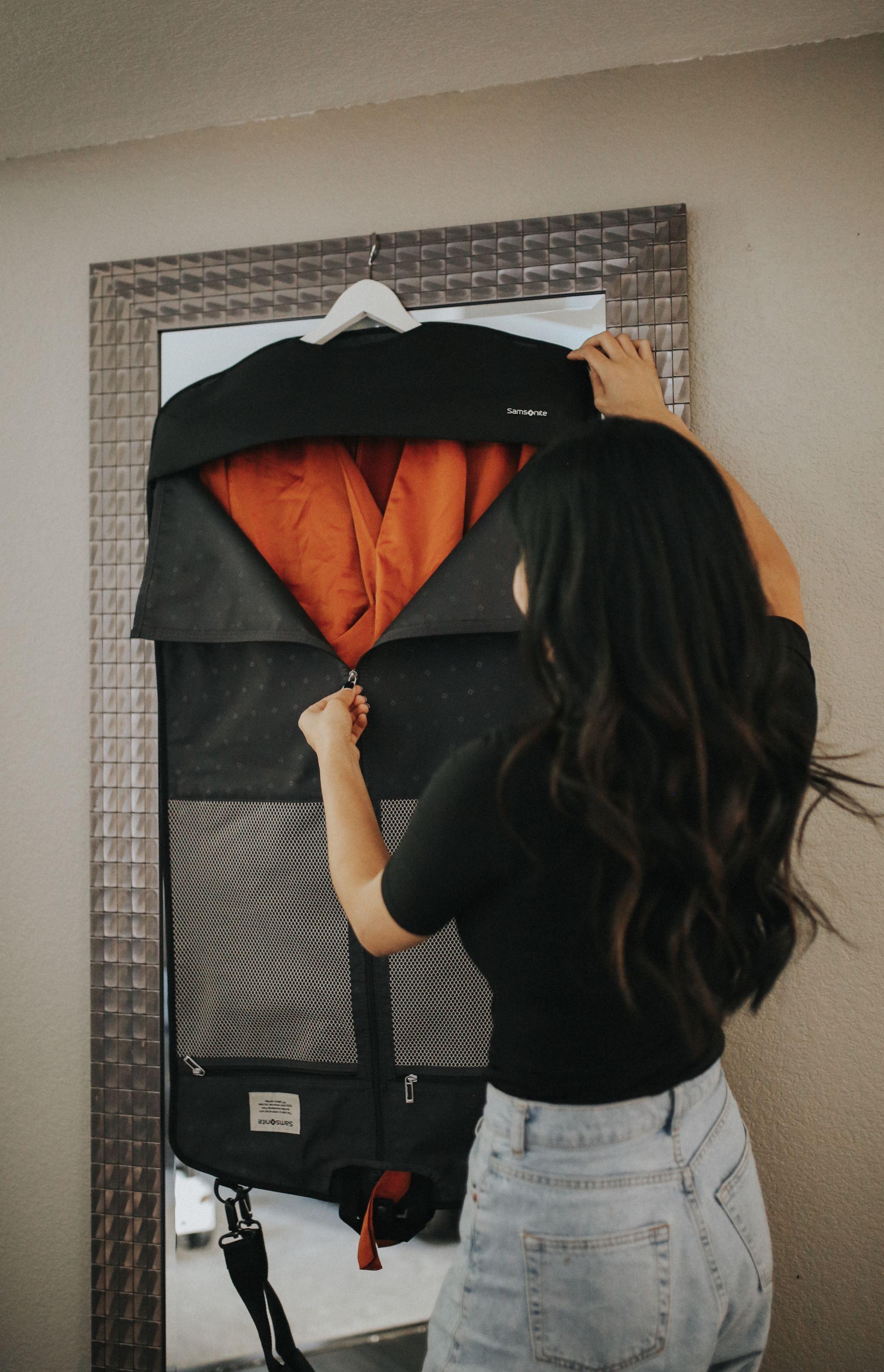 samsonite travel garment sleeve bag
