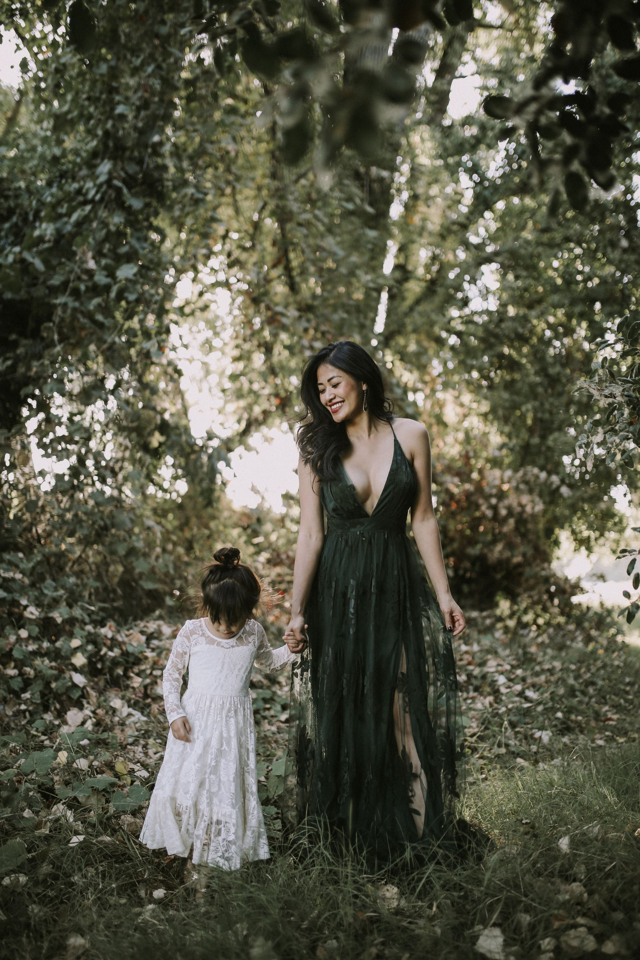 white lace dress toddler and my blogging mistakes