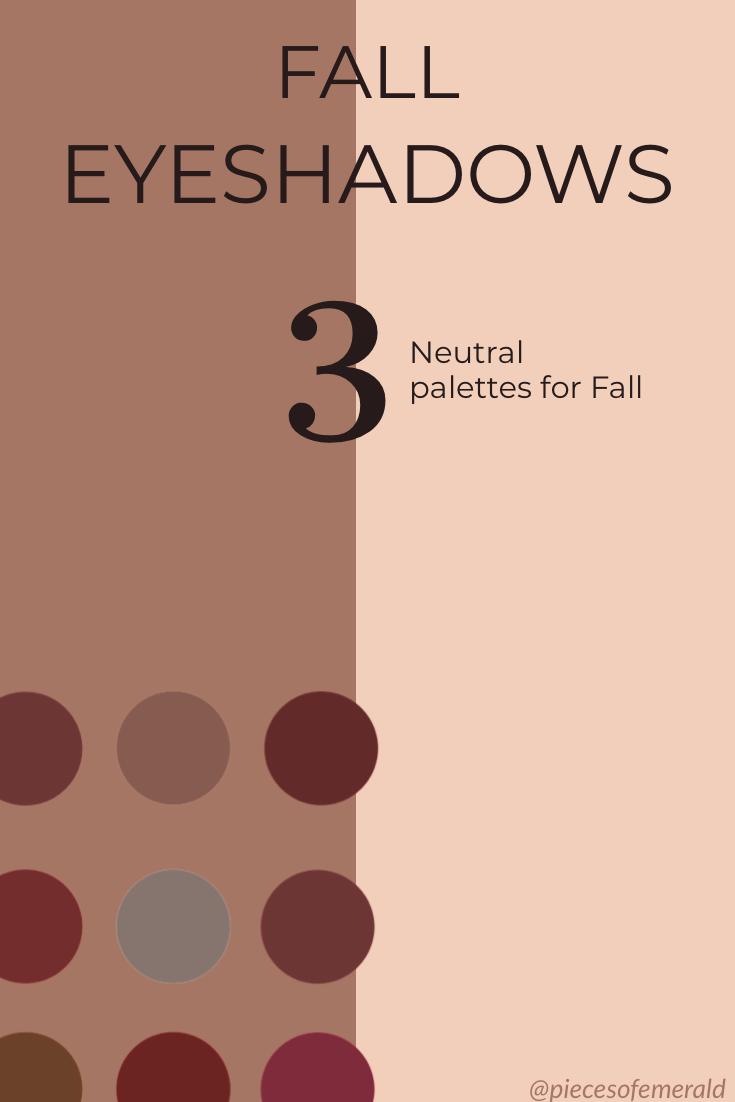 fall eye shadow pallet