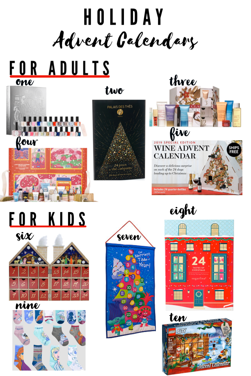 advent calendars for adults
