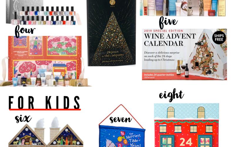 Holiday Advent Calendars 2019