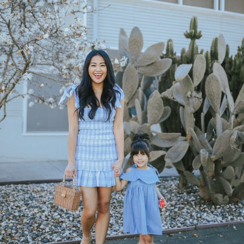 mommy and me chambray dress_piecesofmerald