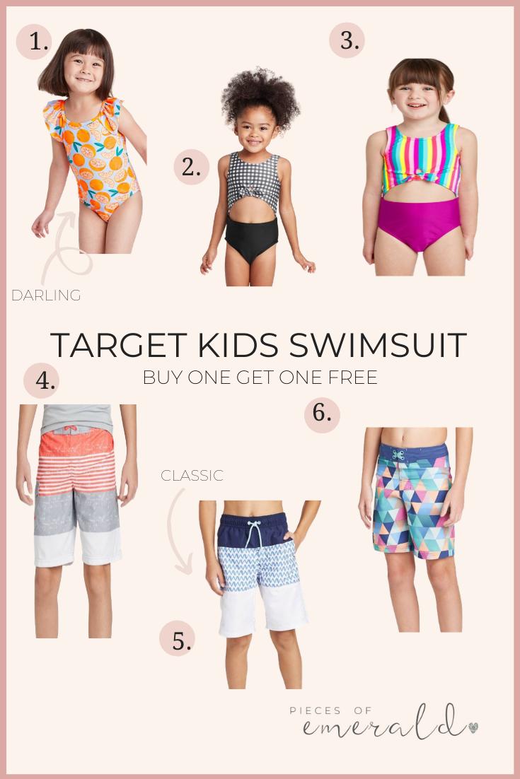 target kids swimsuit sale
