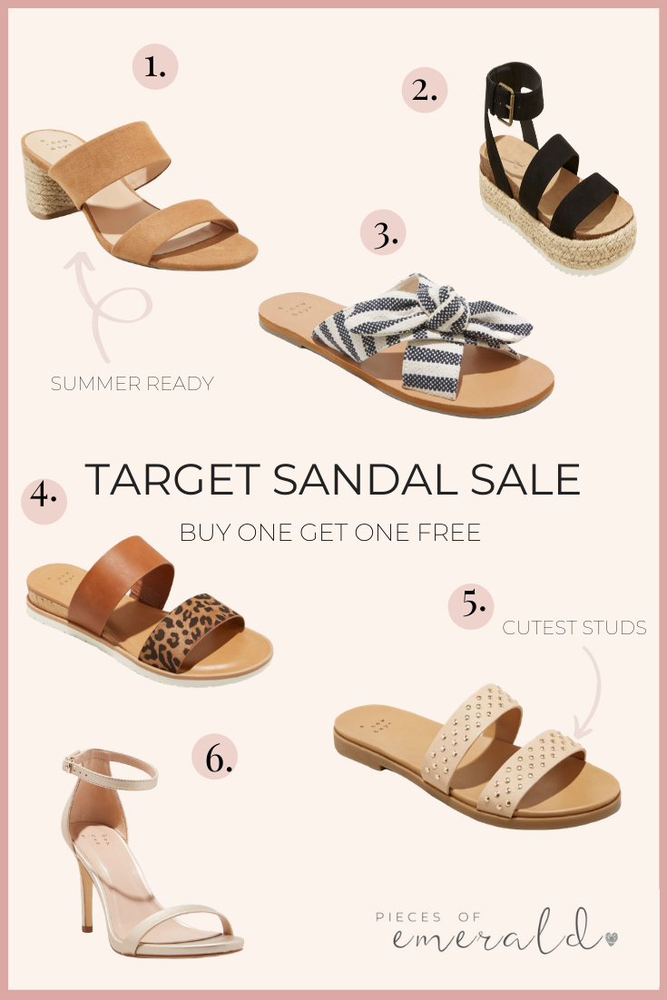 target womens sandals sale