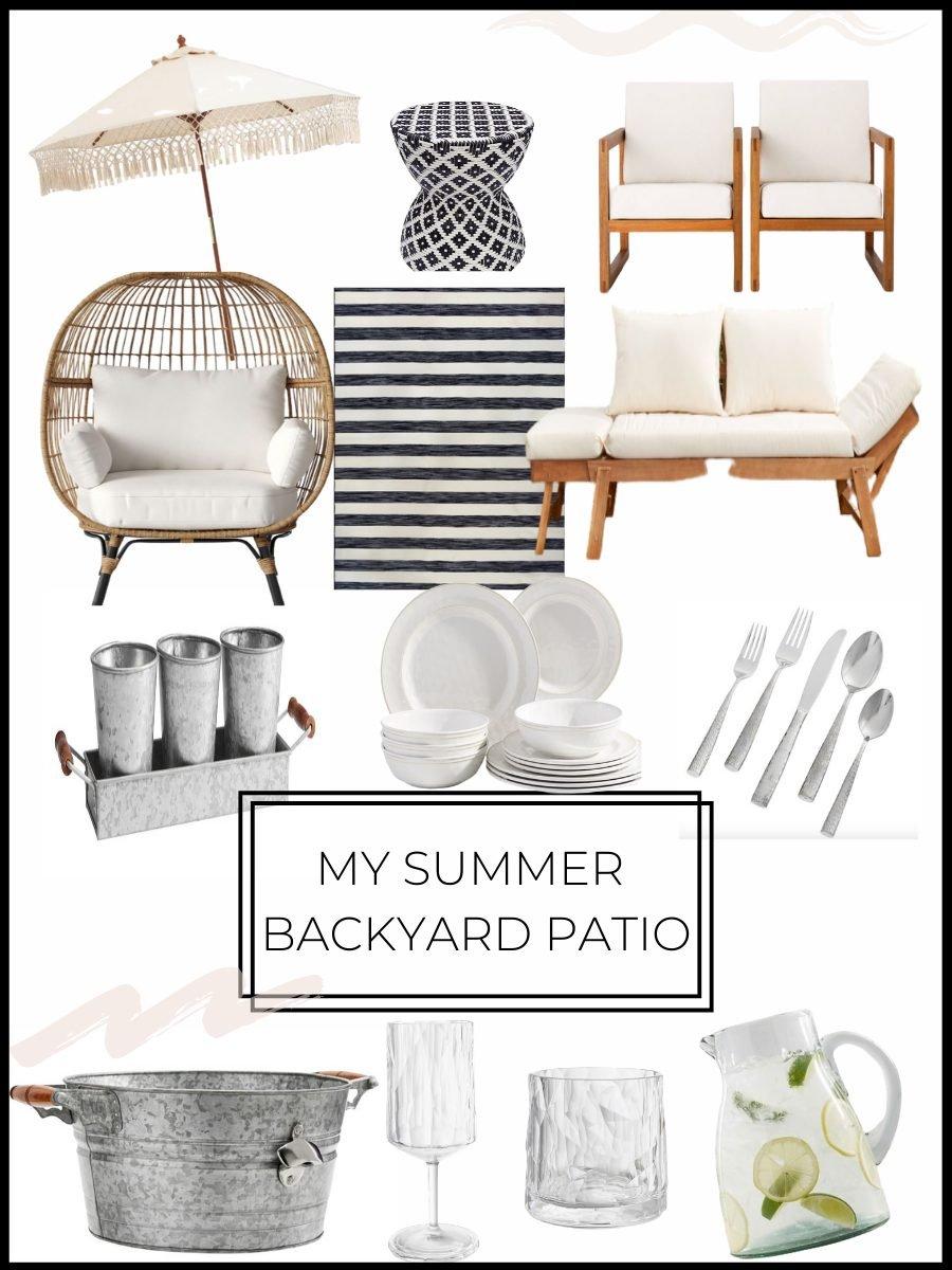 summer backyard patio ideas