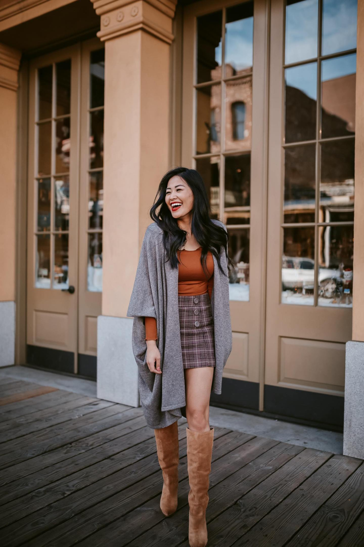 plaid-skirt-for-fall