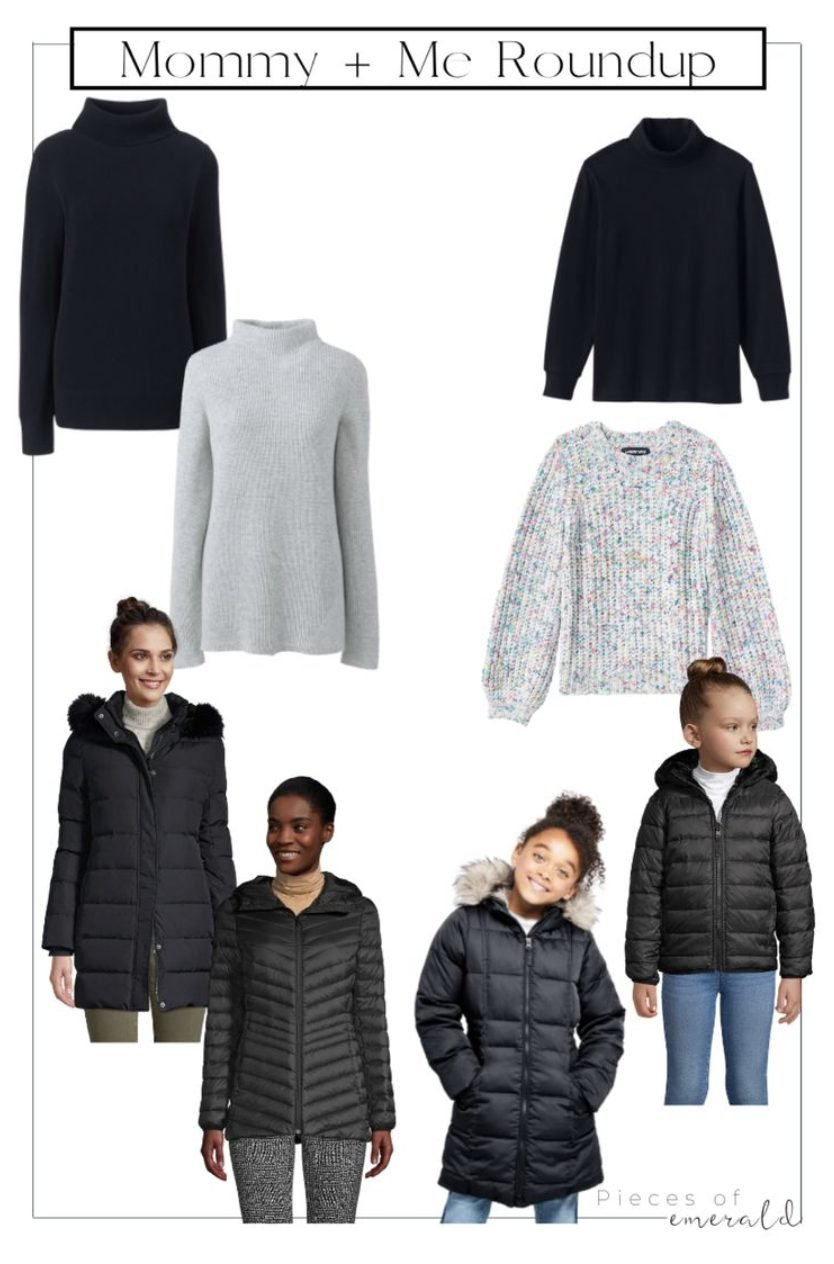 mommy and me winter jackets