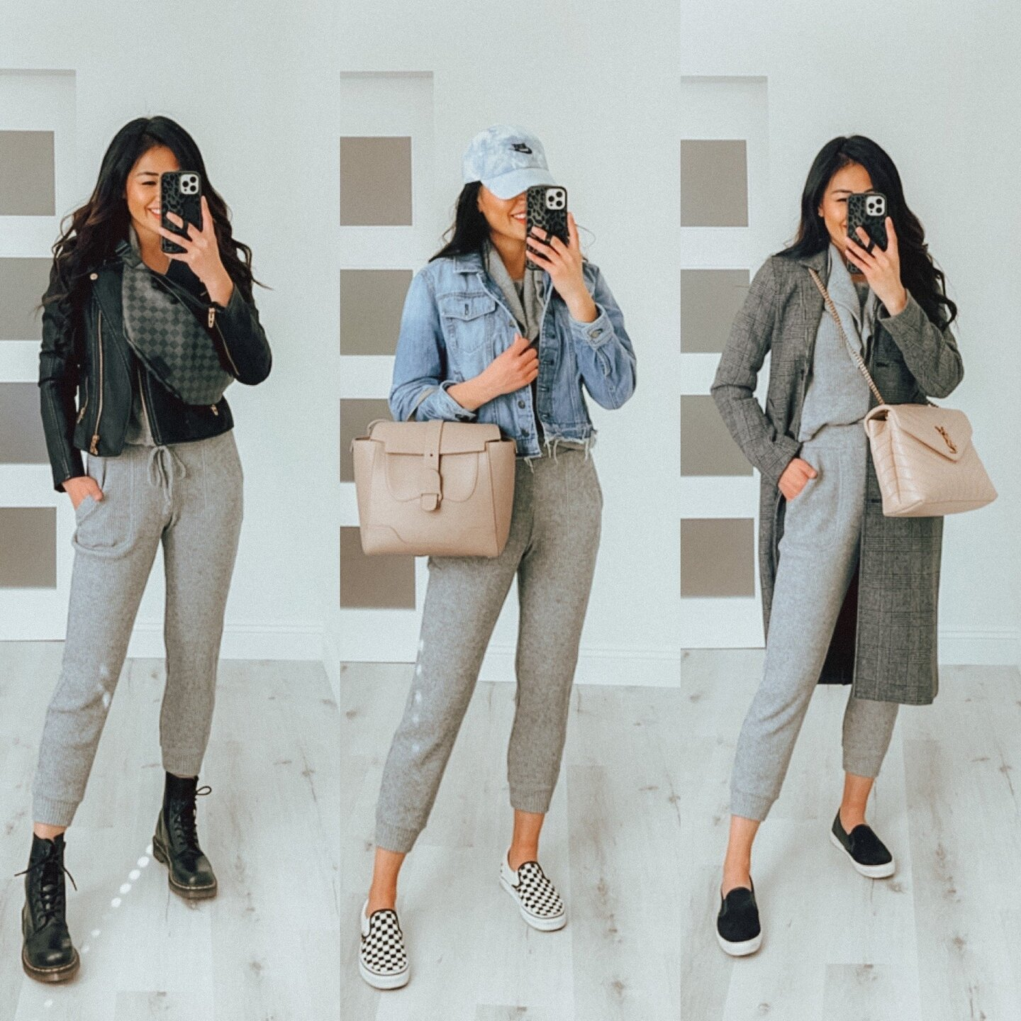 how to style casual gray lounge wear
